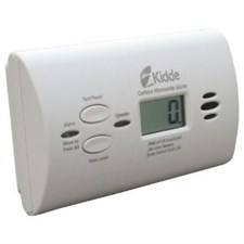 Kidde Battery CO Alarm w/Display