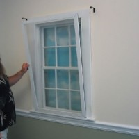 AEP White Window Panel Kit